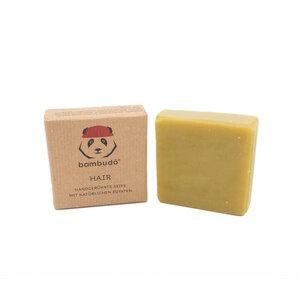 bambudō® Shampoo Bar | Haarseife handgerührt aus natürlichen Zutaten - bambudō
