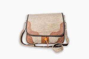 HH Handtasche MAHILA aus wildem Hanf - Himal Hemp