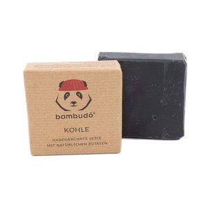 bambudō® Kohleseife - handgerührt aus natürlichen Zutaten - bambudō