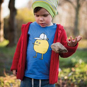 Zitrone T-Shirt (Bio-Baumwolle, kbA) - Manitober