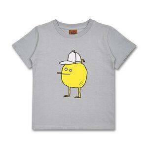 Manitober Kinder T-Shirt Zitrone (Bio-Baumwolle, kbA) - Manitober