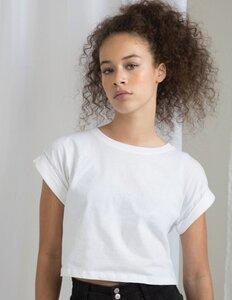 Damen T-Shirt Cropped Bauchfrei kurz - Mantis