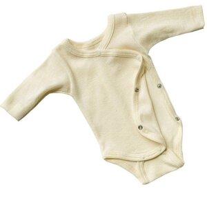Frühchen Baby Wickelbody | GOTS zertifiziert | Engel Natur - Engel natur