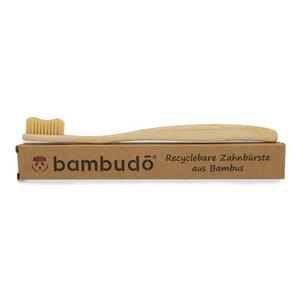 Bambuszahnbürste von bambudō® im 1er-Pack - bambudō