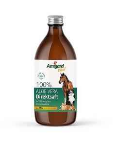 Aloe Vera Direktsaft für Hunde, Katzen und Pferde, 500ml - Amigard