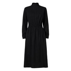 Damen Kleid Schwarz Nachhaltig Fair - ThokkThokk