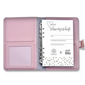 JUBELIST Diary und Organizer Tagebuch für die Schwangerschaft - JUBELIST