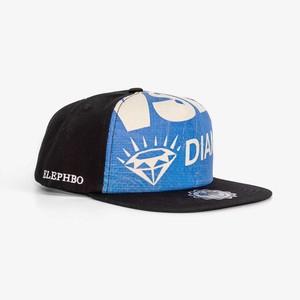 Recycling Snapback - Blue Diamond  - Elephbo