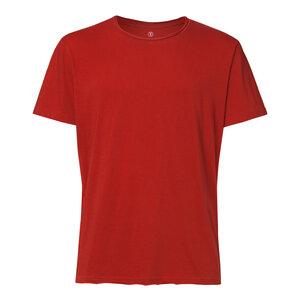 Herren T-Shirt Rot Bio Fair - ThokkThokk