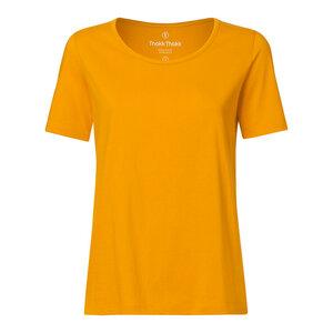 Damen T-Shirt Gelb Bio Fair - THOKKTHOKK