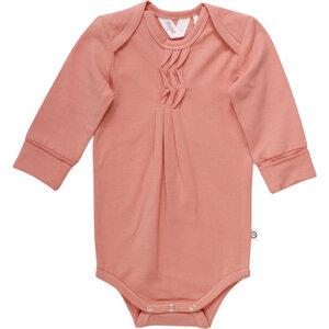 Langarm Baby Body | Ruffles | Bio Baumwolle GOTS zertifiziert | Müsli by Green Cotton - Müsli by Green Cotton