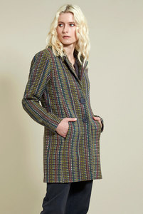 Check Short Coat - Nomads Fair Trade Fashion