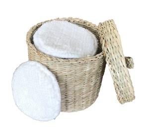 ✮ bambusliebe ✮ Seegras Korb  für Abschminkpads  - bambusliebe