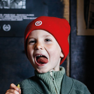 Kinder Strick Mütze (recycelte Wolle) - Manitober