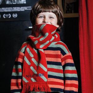 Kinder Strick Schal (recycelte Wolle) - Manitober