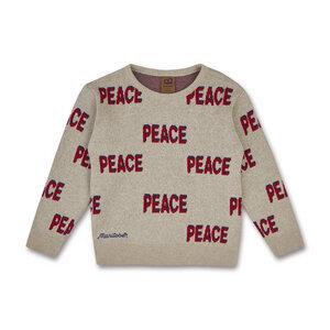 Strickpulli Peace (Bio-Baumwolle, kbA) - Manitober