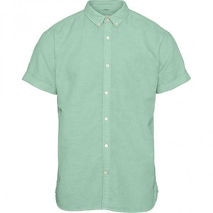 Hemd Cotton Linen Shirt - KnowledgeCotton Apparel