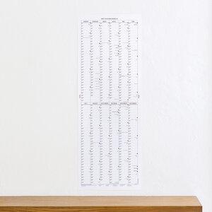 Der lange Wandkalender 2020 - Kleinwaren / von Laufenberg