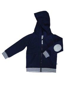 Fleece Kapuzenjacke Bio-Baumwolle Jacke - Leela Cotton