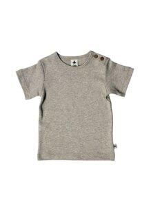 Baby Kinder Kurzarmshirt Bio-Baumwolle T-shirt 10 Farben - Leela Cotton