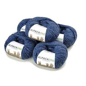 Wolle 5x50g-112m 4-4,5 Nadelstärke Nm 4/9 100% Baby Alpaka 5-Pack  - AlpacaOne