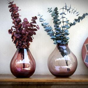Dekovase Amethyst | Blumenvase 24cm - Mitienda Shop