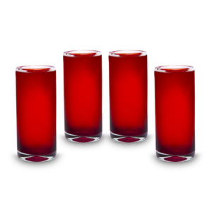 Wasserglas groß 4er Set Rubi | Longdrinkglas | 17 cm - Mitienda Shop