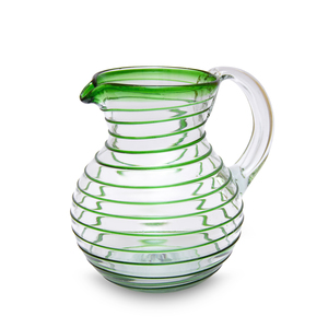Karaffe Bola Spirale grün | 20 cm - Mitienda Shop