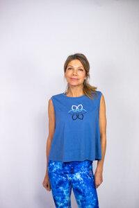 Divine Flower Ocean: Shirt Dione - Divine Flower by Ursula Karven