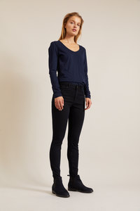 High-Waist-Jeans aus Bio-Baumwolle GOTS - LANIUS