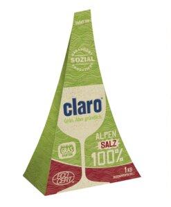 claro 100% Alpensalz Zero Waste - claro