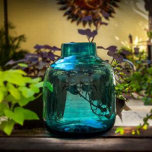 Dekovase Aqua | Blumenvase 24cm - Mitienda Shop