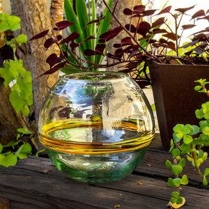 Blumenvase rund | Terrarium Verano 18 cm - Mitienda Shop