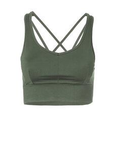Yoga Bra Top Radha Deep Jade - Kismet Yogastyle