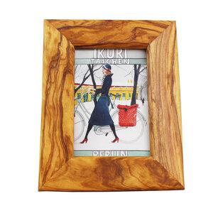 Bilderrahmen aus Olivenholz 13,5cm x 9cm Fotorahmen - Mitienda Shop