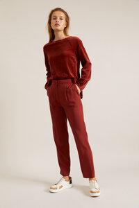 Hose mit elastischem Bund aus Tencel Lyocell - LANIUS