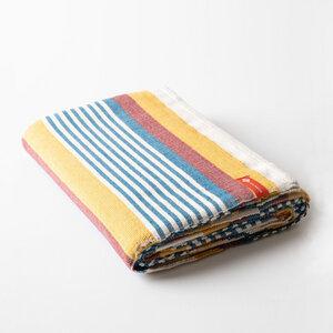Yogadecke Baumwolle Beach Stripe - Halfmoon