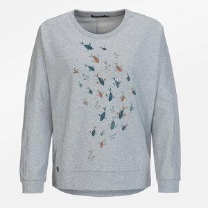 Sweatshirt Slack Animal Fish Family - GreenBomb