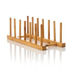Abtropfgestell für Geschirr 100% Bambus - Bambuswald