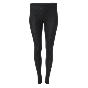 Leggings anthrazit Wolle-Seide mit Bio-Wolle - People Wear Organic