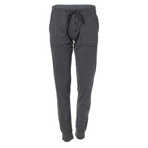 Lounge-Hose anthrazit geringelt aus Bio-Baumwolle - People Wear Organic