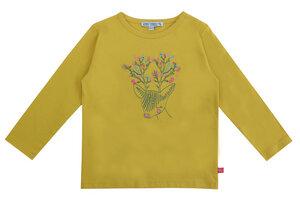 Langarm Shirt Hirsch curry GOTS - Enfant Terrible