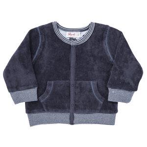 Nicki Babyjacke dunkelblau aus Bio-Baumwolle - People Wear Organic