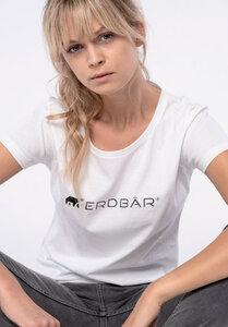 T-Shirt - Logo Print - Cotton/Modal - Erdbär