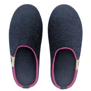 GUMBIES Slipper, Navy-Pink – Kuschel-Warme Puschen für Damen - GUMBIES