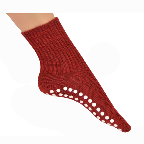 Kinder Grobstrick Stopper Socke
