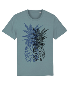 "Bio Faires Herren T-Shirt ""Doubled Pineapple / Ananas""  - ilovemixtapes"