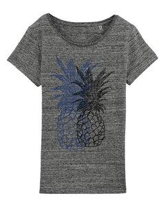 Doubled Pineapple Ananas Women Shirt  - ilovemixtapes