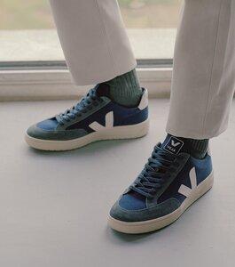 Sneaker Herren - V-12 B-Mesh - Nautico White - Veja