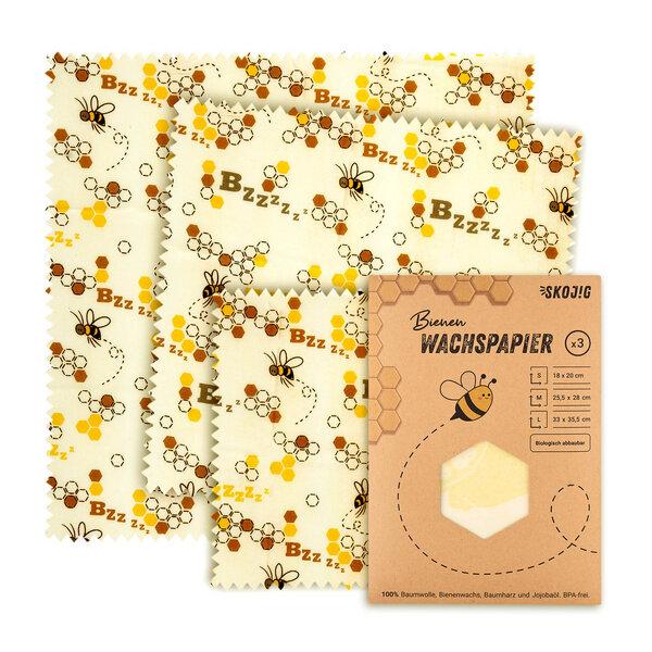 Bienenwachstücher Wachspapier Bienenwachstuch Lebensmittel